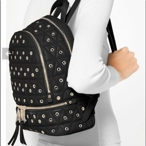 ✨GORGEOUS Michael Kors Grommet Quilted Backpack✨